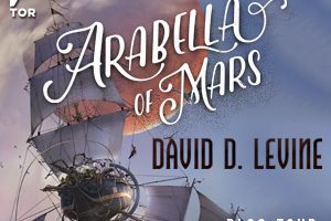Arabella of Mars Blog Tour Banner